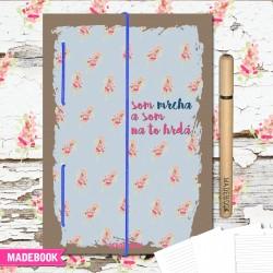 MADEBOOK zápisník A5 - som mrcha