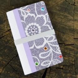 Zápisník A6 – Fialový svet