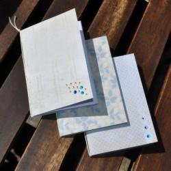Zápisník A6 – Modrý jas