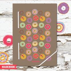 MADEBOOK zápisník A5 – koláčiky