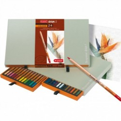 Sada 24-farbičiek na dizajnové kreslenie