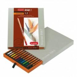 Sada 12-farbičiek na dizajnové kreslenie
