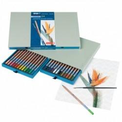 Sada 24-farbičiek na dizajnové a akvarelové kreslenie
