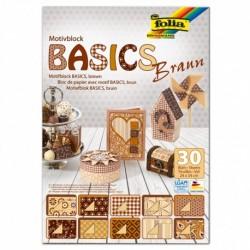 Motívový blok BASICS – hnedý