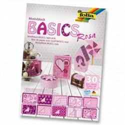 Motívový blok BASICS – ružový