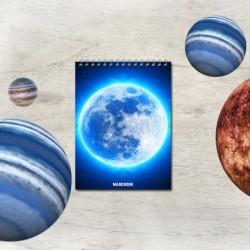 Špirálový blok A7 – ASTRO mesiac