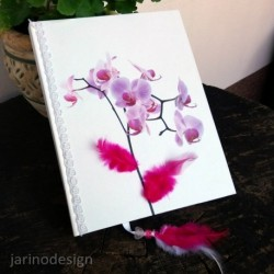 Zápisník A5 – ORCHIDEA