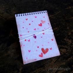 Zápisník špirálový A6 – LÁSKA
