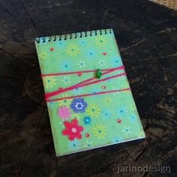 Zápisník špirálový A6 – KVETY