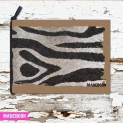 Blok s gumičkou A6 čistý - ZEBRA