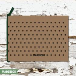 Blok s gumičkou A6 čistý – BODKY