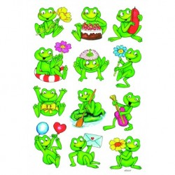 Etikety Decor žaby