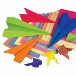 Papier na ručné práce 100g A4 80 listov mix farieb