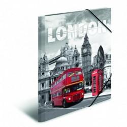 Doska s gumičkou A3 PP Londýn