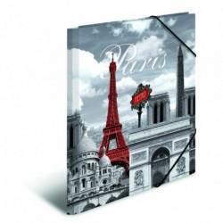 Doska s gumičkou A3 PP Paríž