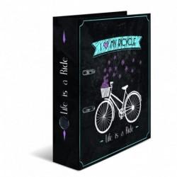 Šanón pákový A4 Shabby chic bicykel