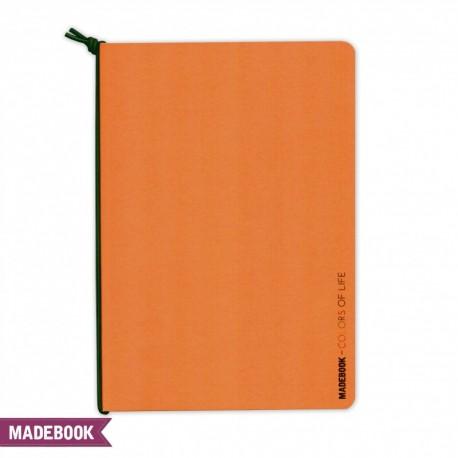 Zošit s gumičkou A5 – oranžový