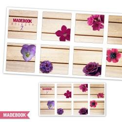 Samolepky - kvetinky