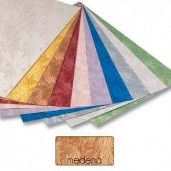 Papier s damaškovým vzorom- medený