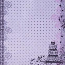 Dizajnový papier - Torta